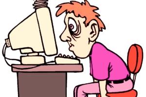Первый приступ эпилепсии у компьютера