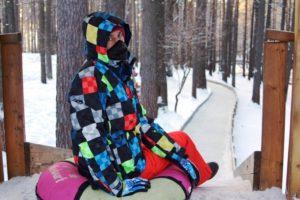 Зимние каникулы в Томской писанице