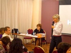 Воронкова КВ на Конференции по эпилепсии в Красноярске
