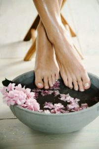 Ванны при судорогах в ногах