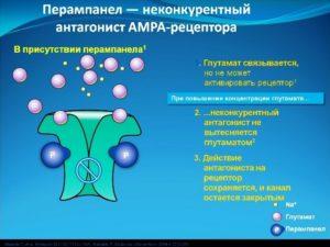 Перампанел и рецептор