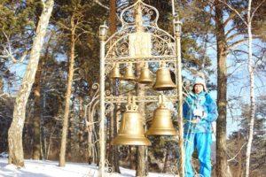 Колокольный звон у часовне Томской писаницы