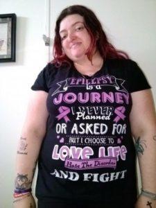 День эпилепсии PurpleDay в поддержку Сара Флуд