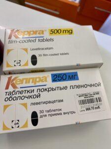 противоэпилептический препарат - кеппра