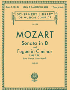 Соната Моцарта К 448